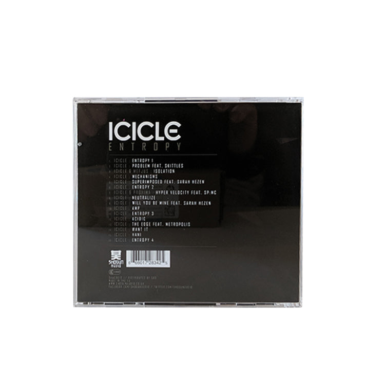 Shogun Audio - Icicle -  Entropy CD - Shogun Audio