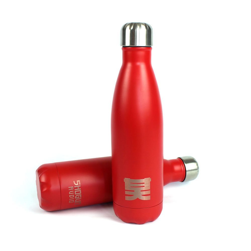 Shogun Audio - Shogun Essentials Water Bottle Red - Shogun Audio