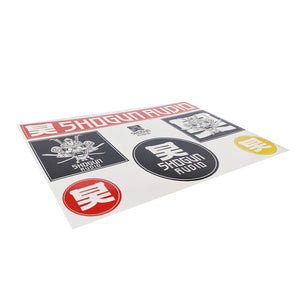 Shogun Audio Sticker Pack