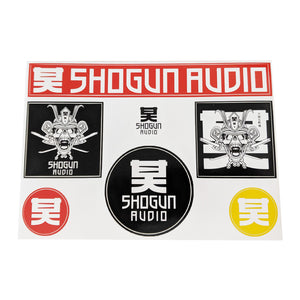 Shogun Audio - Shogun Audio Sticker Pack - Shogun Audio