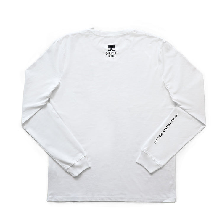 Shogun Audio - Shogun Essentials Long Sleeve T-shirt White - Shogun Audio