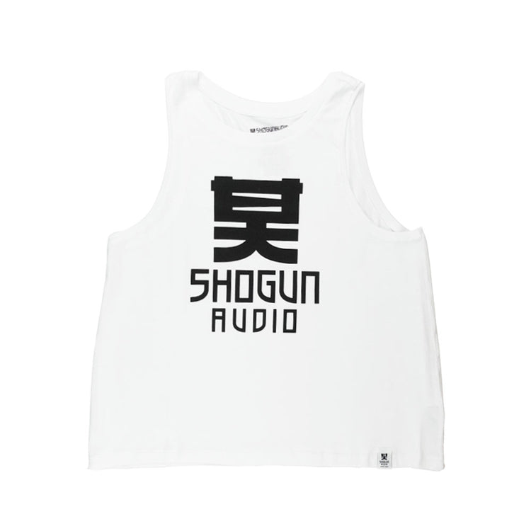 Shogun Audio Classic Ladies Vest Top White - Shogun Audio
