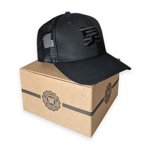 Shogun Audio Trucker Hat Black on Black - Shogun Audio