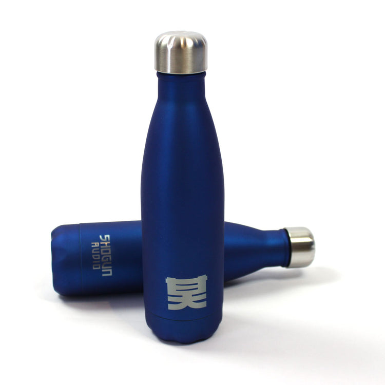 Shogun Audio - Shogun Essentials Water Bottle Blue - Shogun Audio