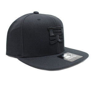 Shogun Audio x Starter Snapback Cap Black On Black