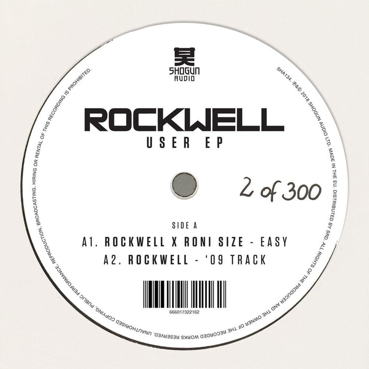 Rockwell - Rockwell - User EP - Shogun Audio