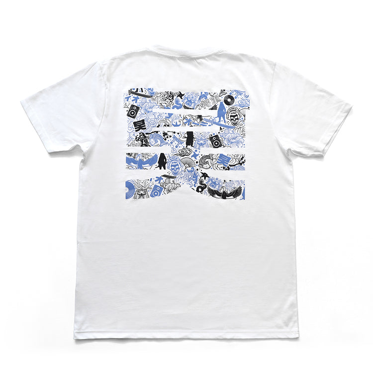 Shogun Audio - Shogun Audio Voodoo Magic T-Shirt White - Shogun Audio