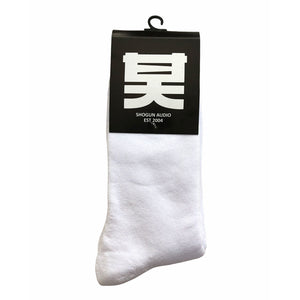 Shogun Audio Socks White - Shogun Audio
