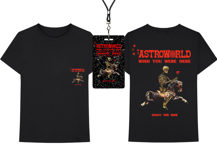 Superieur ASTROWORLD SEASON PASS + T SHIRT