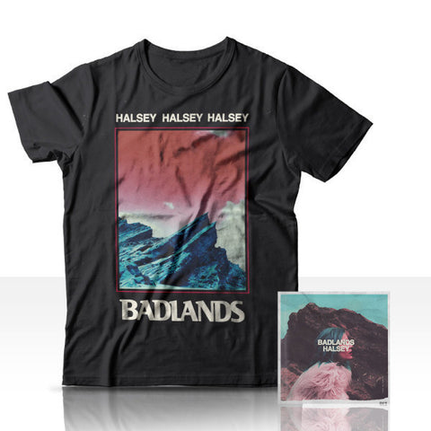 Badlands CD + T-Shirt