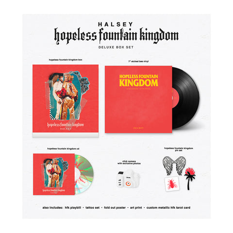 hopeless fountain kingdom deluxe box set