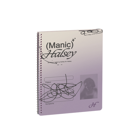 'MANIC' Spiral Notebook + Digital Album