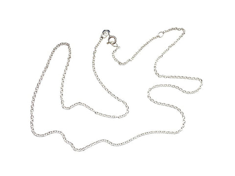 "Sterling Silver Belcher Chain (1.6mm) - 18""-20"" / 45-50cm"