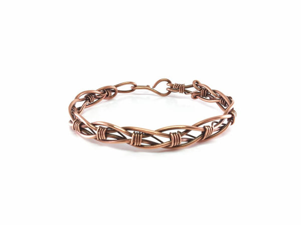 Braided Copper Bangle