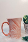 Pink Marble Ceramic Coffee Mug