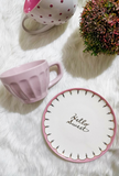 Pink Tea/Coffee Cup
