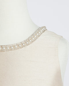 Champagne and Pearls Gown