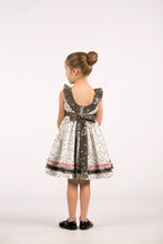 Whimsical Dress with Ruffled Collar