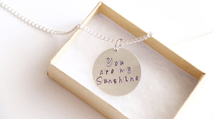 You're My Sunshine Necklace, Gift