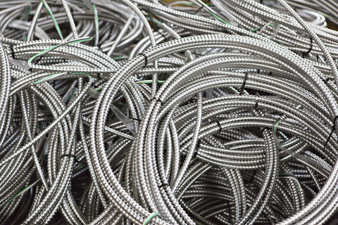 Electrical Prefab, Prefabrication, Temporary, Construction, Light, Systems - Pre-Cut Stranded MC Whip