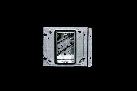 Electrical Prefab, Prefabrication, Temporary, Construction, Light, Systems - Single Gang Junction Box Assembly
