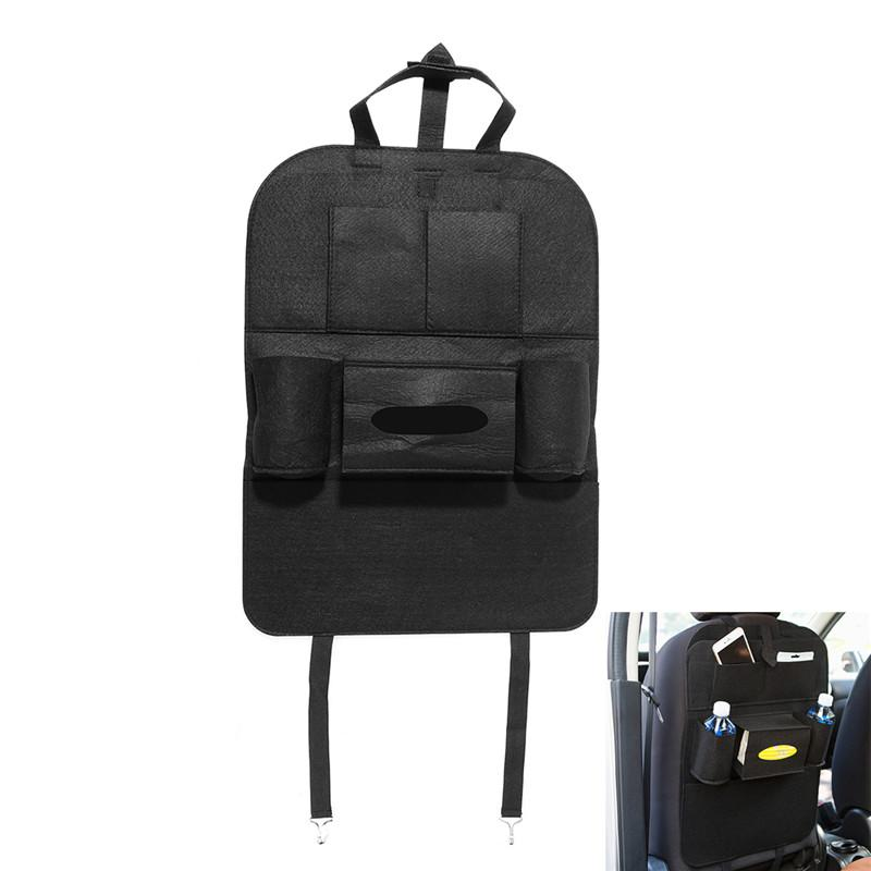 Multi Pocket Car Seat Back Bag Organizer Storage
