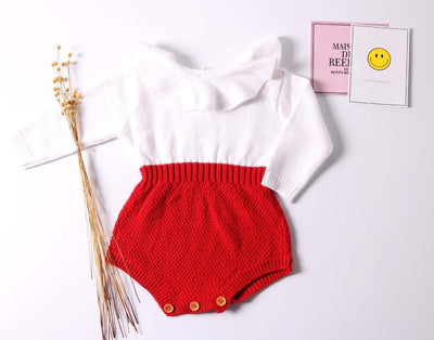 Premium Baby Rompers Knitted Jumpsuit