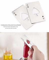 New Stylish Poker Card Bottle Opener