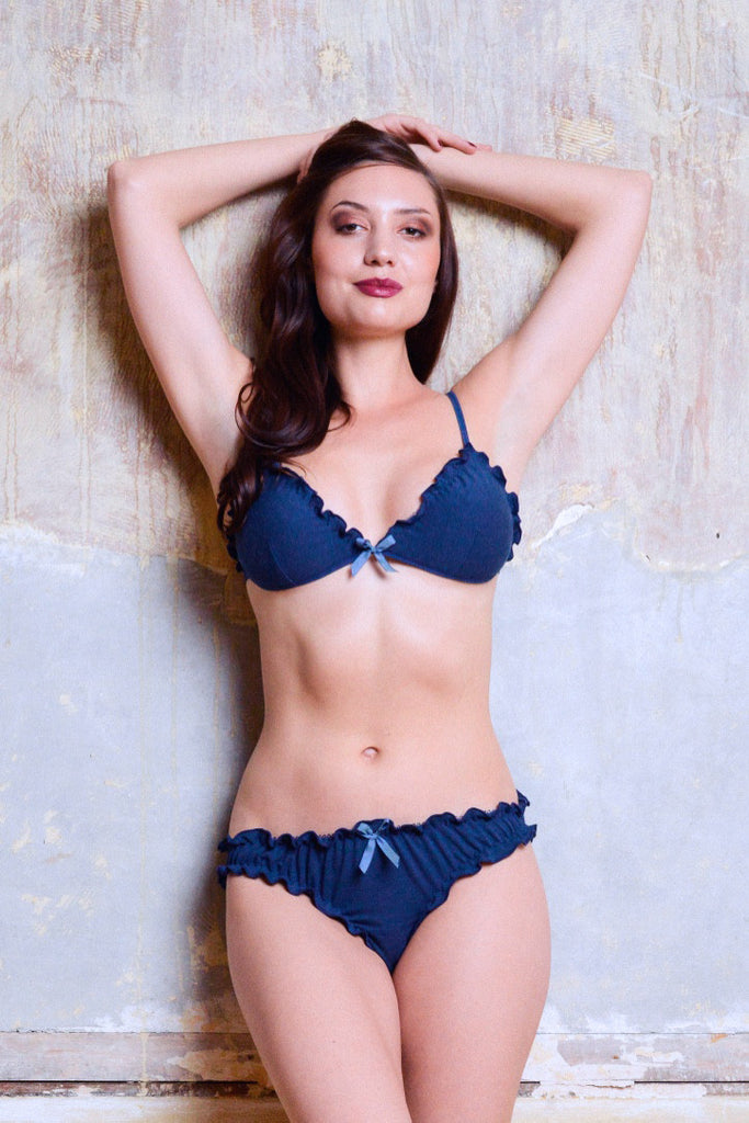 Anemone Brief - Luva Huva - ethical lingerie
