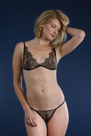 Emmie Bamboo and Lace Slip