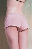 organic ethical lingerie short bridal sexy everyday baby pink organic cotton, coton, cotone, bio, organique, rose, rosa