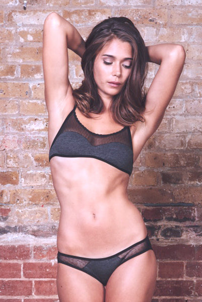 Anna Charcoal Bra   Brief Set £59.00 9dc9c2e5e