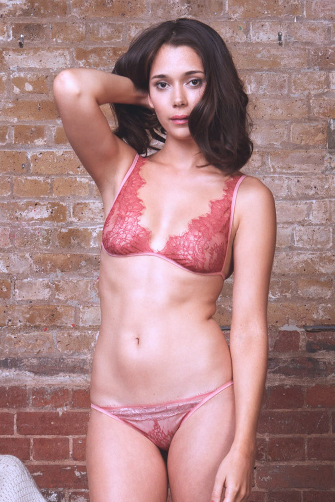 Chilli Sweet Juliet Bra & Brief Set - Luva Huva - ethical lingerie