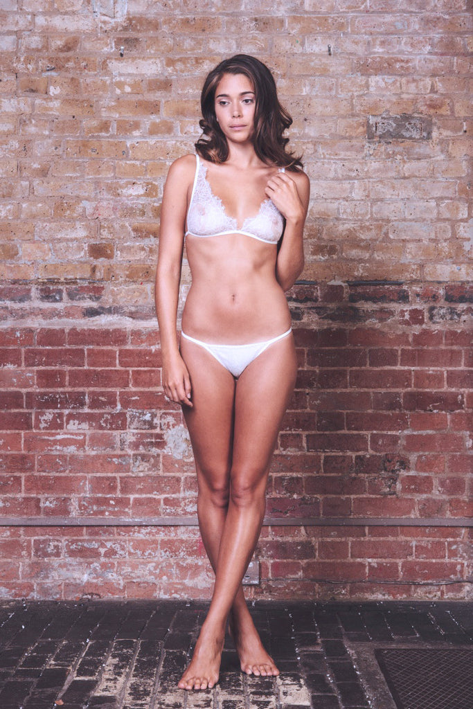 Ivory Sweet Juliet Bra & Brief Set