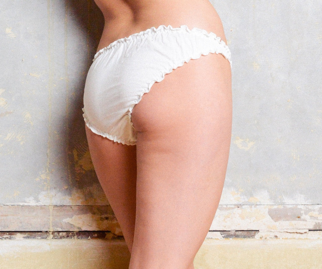 Knicker 2 Pack - Rose Bud - Luva Huva - ethical lingerie