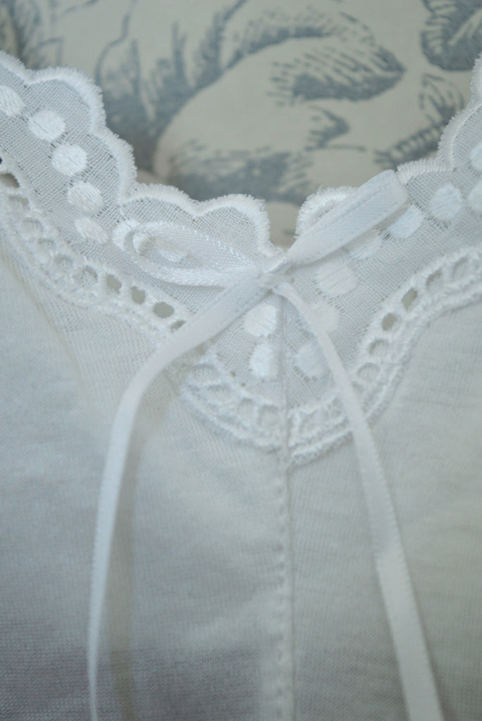 Lucy Cotton Bralette 1980s