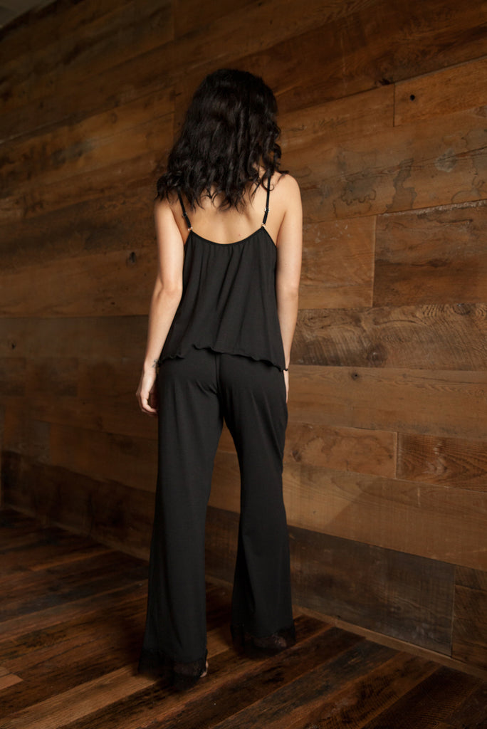 Camille Organic Cotton Camisole & Loungepant Set AVAILABLE FROM THE 7TH DECEMBER - Luva Huva - ethical lingerie