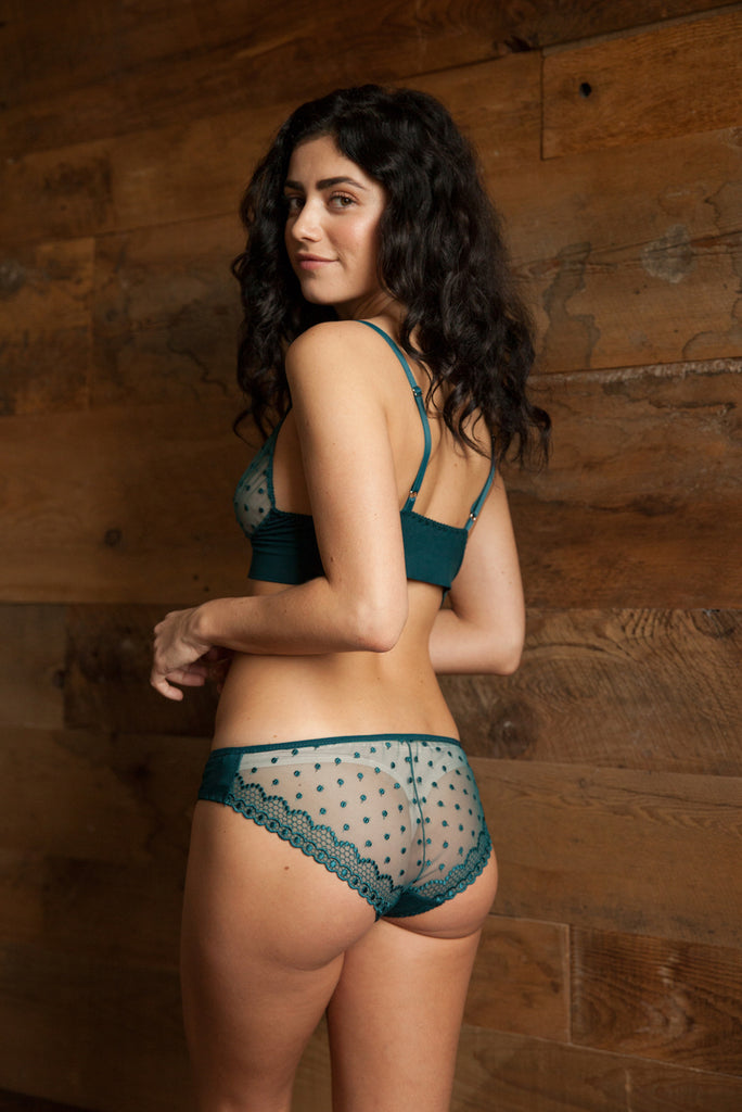 ... Emily Forest Green Bra   Brief Set - Luva Huva - ethical lingerie ... 1ec7fc044