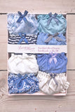 Knicker 8 pack- Seashore - Luva Huva - ethical lingerie