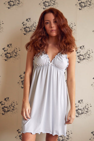 Blue Dot Babydoll & Knicker Set