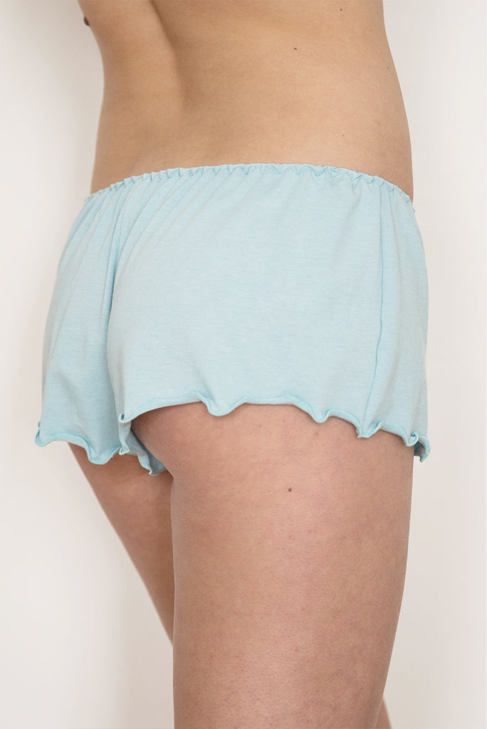 Forget-me-not Bamboo Jersey Short
