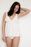 Chloe Organic Cotton Babydoll & Knicker Set