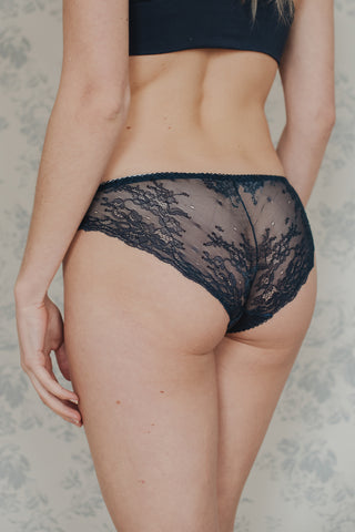 Black Sweet Juliet Chantilly Lace Bra