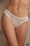 Ida Ivory Lace Brief