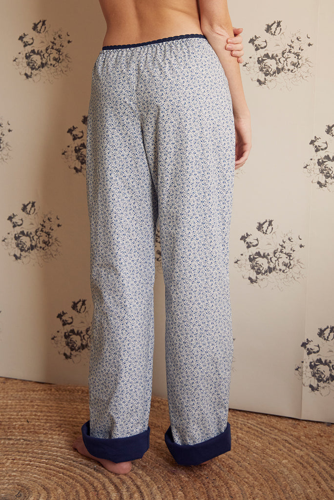 Jersey Lined Lounge Pant - Luva Huva - ethical lingerie