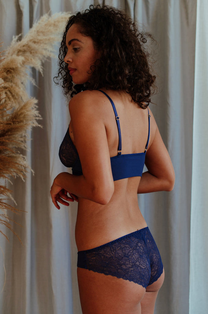 Emily Egyptian Blue Brief