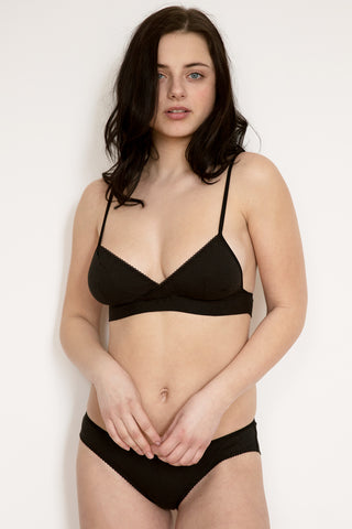 Sophia Black Camisole & Short Set