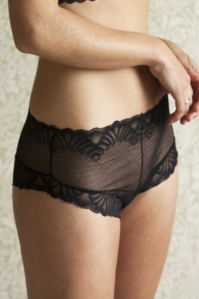 Kelly Black Brief