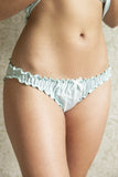 Mint Bamboo Frilly Knicker