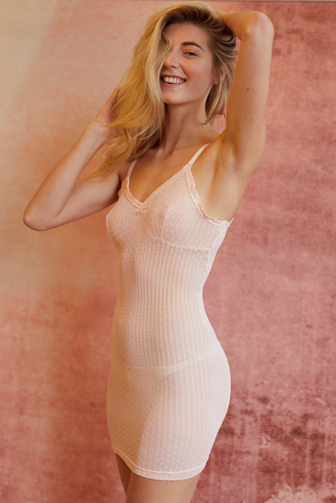 Vintage pink Thermal Slip